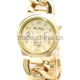 Vogue ICON Gold Chain bracelet Watch bangle watches for Women