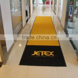 Customized Logo Mat, Nylon Designer Floor Mat, Entrance Welcome Mat with Rubber Back                                                                         Quality Choice