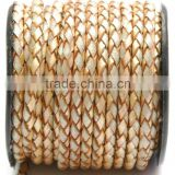 6 mm Jewelry Braided Leather Cord Bolo Leather Jewellery Making