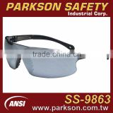 Taiwan Light Weight One Piece Eye Protection Safety Glasses with PC Lens ANSI Z87.1 Standard SS-9863