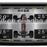 Newest original car dvd gps tire pressure monitoring system, tpms with internal sensor, tire sensor