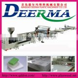 pp board making line/ pp plastic board making line with high performance and high capacity