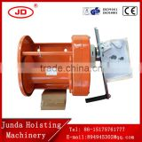 wholesale/ factory direct sale durable heavy duty hand winch with brake , capacity 500-3000KG