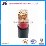 XLPE insulated PVC sheathed steel wire armoured power cable, wire braided power cable, SWA cable