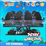 Attractive simulation ride 4D cinema equipment system, 4d movie theater seat simulator motion chair                                                                         Quality Choice