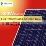 high efficiency 300 watts poly solar panels polycrystalline solar cell for sale with TUV UL