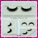Customized eyelash packaging double layers thick synthetic eyelashes