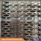 Hot dipped galvanized high quality perforated Grip Strut Plank Grating for Walkway Platform and Vehicle Steps