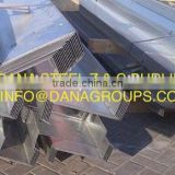 Steel Purlins Z & C Channels GI Angles