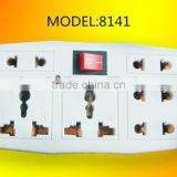 5 Socket Adapter Plug,5 Outlet Single-Tap Wall Tap Electrical Multi Outlets,Use Home Organization Office                                                                         Quality Choice