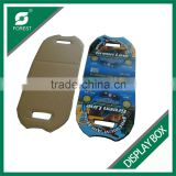 FULL PRINTED CUP HOLDER CUSTOMIZED CARDBOARD DISPLAY PACKING BOX WITH HANDLE
