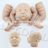Hot sale high quality new born baby kits soft silicone vinyl lifelike reborn babies kits for sale