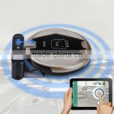 Automatic Intelligent wifi Robot Vacuum Cleaner Home Appliance JISIWEI S+ golden carpet, wooden floor, marble