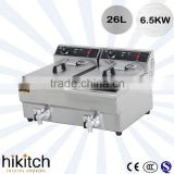 Professional produce stainless steel 12 Liter electric fryer as strong as henny penny pressure fryer