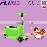 New sports 3 in 1 wide deck 4 wheel folding kids kick scooter with seat                                                                         Quality Choice