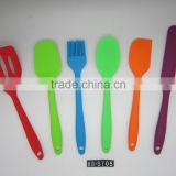 6-Piece Silicone Baking Set - Spatulas, Spoons & Turner - Heat Resistant Cooking Utensils