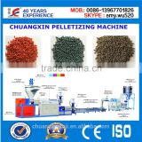 China Factory Suplier Economic Automatic recycled plastic extruder machine production line