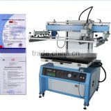 High quality paper flat bed screen printing machine with vaccum table LC-6090P                                                                                                         Supplier's Choice