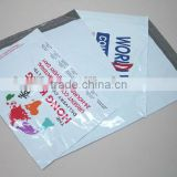 LDPE Co-ex disposable courier satchels with tape on the lip