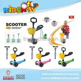 2015 popular item kids plastic toy scooter Ride On Toy Baby two wheels self balancing scooter toy for kids