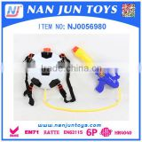 summer plastic water gun back pack toy gun for sale