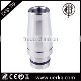 Disposable cig e Cigarette TA-010 THC titanium alloy tank replaceable drip tip