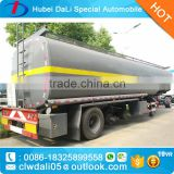 Main Product Chemical Liquid Trailer truck 20000L sulfuric acid semi trailer for sale heavy duty