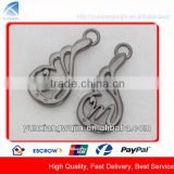 CD8565 Custom Made Fancy Metal Zipper Puller for Bags Accessory