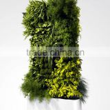 Dongguan Plastic Plant Artificial Hedge with Planter , Home Decor Privacy Hedge