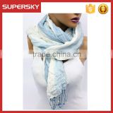 A-66 linen fabric scarf patterns women linen shawl and scarf cotton linen fabric shawl scarf