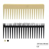 Factory Price High Quality Common Comb Wide Tooth Plastic Hair Comb For Home Or Salon                                                                         Quality Choice