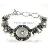 CJ3478 diy kit make friendship bracelets,button bracelet jewellery,snap button charm bracelet jewelry