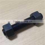 astm a193 gr b7 types of stud bolts black color