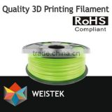 2015 most popular and low price 3D printer nylon filament and 3d printer temperature change filament