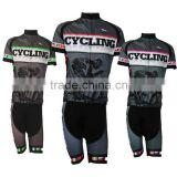 Sublimation Short Sleeve Bicycle Jersey Bike Clothing for Men