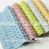 80x50CM High Quality Massage Function PVC Shower Mats, With Suction Cups Rubber Bath Mat