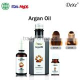 smoothing hair Argan oil wholesale of hair care for make hair soft and silky with private label