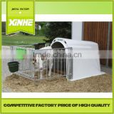 Good fast supplier House and open-air cage for calfs / Greenhouse Poultry Equipment Calf Hutch