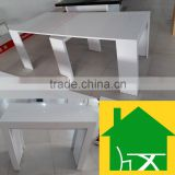 modern high gloss extendable dining table                                                                         Quality Choice