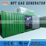 Natural gas /biogas/biomass gas/LPG/Syngas/woodchips silent gas generator from Weifang manufacturer
