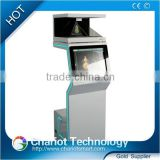 2016 Chariot 3d hologram advertising rear projection pyramid on sale.