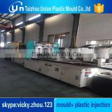 plastic mould with vertical injection moulding machine