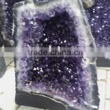 Wholesale Natural Large Crystal Amethyst Geode / Natural Shinning Amethyst Geode for sale