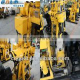 hydraulic top-drive power head drilling rig