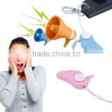 New Arrival Personal Anti Rape Anti Attack Safety Security Panic Loud hand operated Alarm Emergency Siren