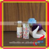 Customized lip balm paper tube with biodegradable cardboard paper tube with round recycled cardboard tubes