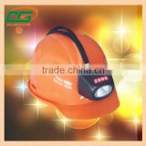 IP65 cordless miners cap lamp, water proof mining helmet light , explosion proof mining cap light