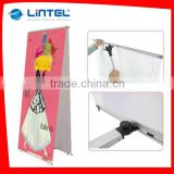 Advertising promotional display L banner stand