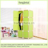 China assemble plastic portable wardrobe closet