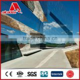 mirror decoration/mirror finish aluminum composite panel sheets for cladding wall materials
